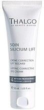 Düfte, Parfümerie und Kosmetik Korrigierende Augencreme mit Lifting-Effekt - Thalgo Silicium Regard Eye Cream