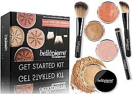 Düfte, Parfümerie und Kosmetik Make-up Set - Bellapierre Get Started Kit Dark