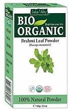 Düfte, Parfümerie und Kosmetik Festigendes Brahmi-Pulver für schwaches und brüchiges Haar - Indus Valley Bio Organic