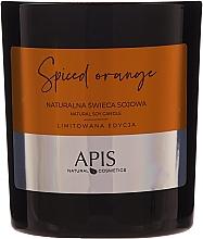 Düfte, Parfümerie und Kosmetik Natürliche Soja-Duftkerze Spiced Orange - APIS Professional Spiced Orange Candle