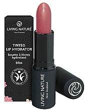 Düfte, Parfümerie und Kosmetik Feuchtigkeitsspendender Lippenbalsam - Living Nature Tinted Lip Hydrator