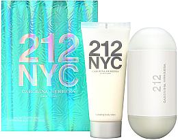 Düfte, Parfümerie und Kosmetik Carolina Herrera 212 For Women - Kosmetikset (Eau de Toilette/100ml + Körperlotion/100ml)