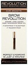 Düfte, Parfümerie und Kosmetik Augenbrauengel - Makeup Revolution Brow Revolution Brow Gel