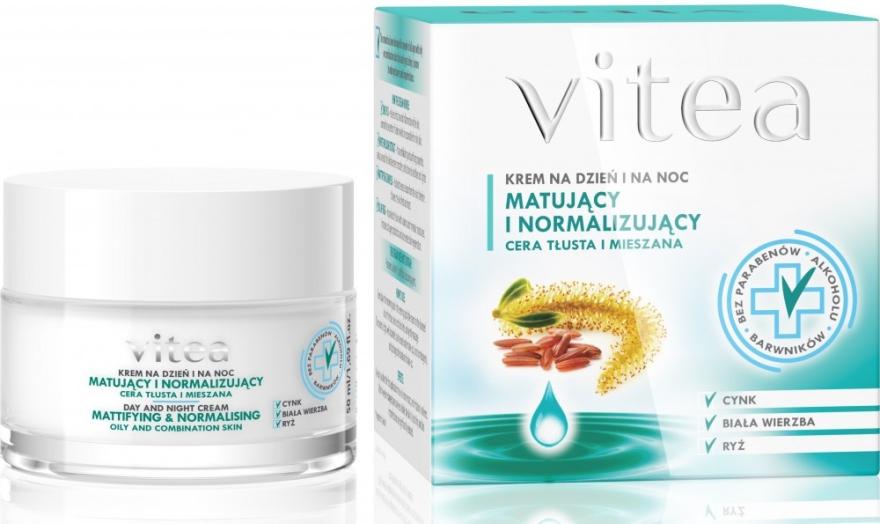 Mattierende und normalisierende Gesichtscreme - Vitea Mattifying And Normalising Face Cream