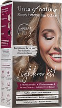 Düfte, Parfümerie und Kosmetik Haaraufhellungs-Set - Tints Of Nature Lightener Medium Brown To Blonde