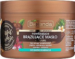 Düfte, Parfümerie und Kosmetik Bronzierende Körperbutter - Bielenda Magic Bronze Moisturizing Bronzing Body Butter