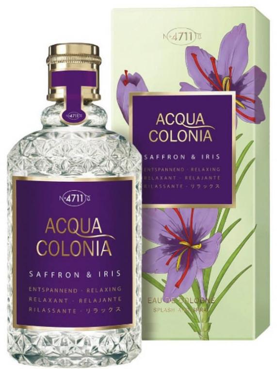 Maurer & Wirtz 4711 Acqua Colonia Saffron & Iris - Eau de Cologne