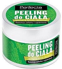 Düfte, Parfümerie und Kosmetik Straffendes Anti-Cellulite Körperpeeling mit Grünkohl und grüner Gerste - Perfecta Kale & Young Barley Body Scrub