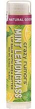 "Düfte, Parfümerie und Kosmetik Lippenbalsam ""Pfefferminze und Zitronengras"" - Crazy Rumors Peppermint Lemongrass Lip Balm"