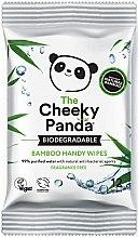 Düfte, Parfümerie und Kosmetik Biologisch abbaubare Babytücher mit Bambus, gereinigtem Wasser, Aloe Vera und Fruchtextrakt - The Cheeky Panda Biodegradable Bamboo Handy Wipes
