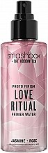 Düfte, Parfümerie und Kosmetik Gesichtsprimer-Spray mit Kristallpartikeln Love Ritrual - Smashbox Crystalized Photo Finish Primer Water Love Ritrual