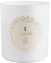Düfte, Parfümerie und Kosmetik Duftkerze im Glas Tabak und Vanille - Flagolie Soy Candle
