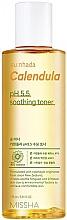 Düfte, Parfümerie und Kosmetik Beruhigendes Gesichtstonikum mit Calendula für empfindliche Haut - Missha Su:Nhada Calendula pH 5.5 Soothing Toner
