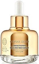 Stärkendes Anti-Aging Hals- und Gesichtsserum mit schwarzem Kaviar und sibirischem Gold - Natura Siberica Caviar Gold — Bild N1