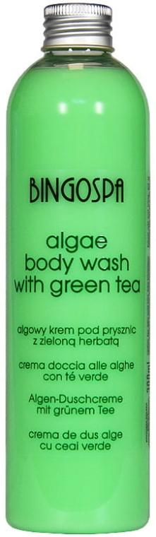 Erfrischendes Duschgel mit Algen und grünem Tee - BingoSpa Algae Energizing Body Wash With Green Tea — Bild N1