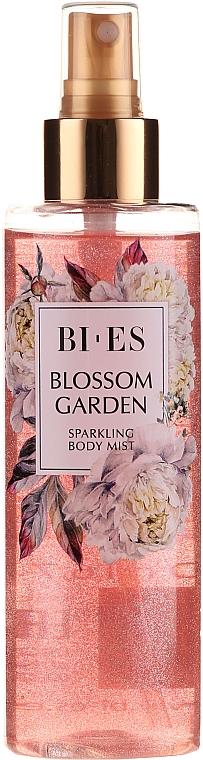 Bi-Es Blossom Garden Sparkling Body Mist - Körperspray mit lichtstreuenden Partikeln
