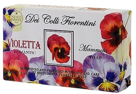 Naturseife Sweet Violet - Nesti Dante Romantic Soap Dei Colli Fiorentini Collection