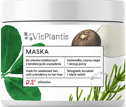 Maske gegen Haarausfall für geschwächtes Haar - Vis Plantis Mask