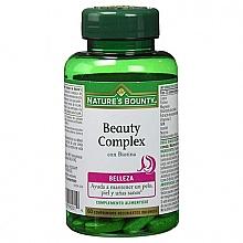 Düfte, Parfümerie und Kosmetik Nahrungsergänzungsmittel Beauty Komplex mit Biotin - Nature's Bounty Beauty Complex