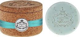 Düfte, Parfümerie und Kosmetik Seife mit violettem Öl im Kork-Box - Essencias De Portugal Tradition Jewel-Keeper Violet