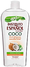 Düfte, Parfümerie und Kosmetik Feuchtigkeitsspendendes und regenerierendes Körperöl mit Kokosnussöl für mehr Hautelastizität - Instituto Espanol Coconut Body Oil