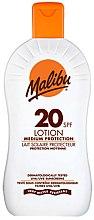 Düfte, Parfümerie und Kosmetik Wasserdichte Sonnenschutzlotion SPF 20 - Malibu Lotion Medium Protection
