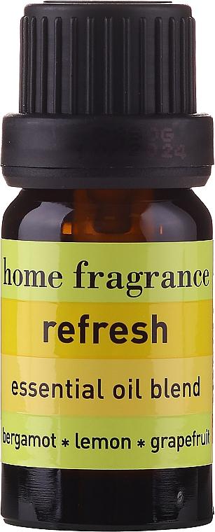 Erfrischende Ölmischung aus Bergamotte, Zitrone und Grapefruit - Apivita Aromatherapy Essential Oil Refresh — Bild N2