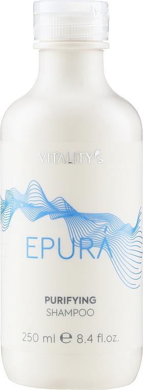 Reinigendes Shampoo gegen Schuppen - Vitality's Epura Purifying Shampoo