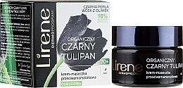 Düfte, Parfümerie und Kosmetik Reparierende Anti-Falten Creme-Maske für Gesicht 70+ - Lirene Black Tulip