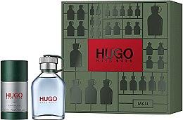 Düfte, Parfümerie und Kosmetik Hugo Boss Hugo Men - Duftset (Eau de Toilette 75ml + Deostick 75ml)