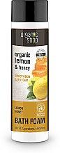 Düfte, Parfümerie und Kosmetik Badeschaum mit Bio Zitronenöl und Honig - Organic Shop Organic Lemon and Manuka Golden Bath Foam