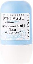Düfte, Parfümerie und Kosmetik Deo Roll-on - Byphasse 24h Deodorant Cotton Flower