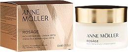 Düfte, Parfümerie und Kosmetik Gesichtscreme - Anne Moller Rosage Rich Repairing Cream Spf15