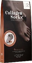 Düfte, Parfümerie und Kosmetik Intensive Maske in Socken mit Kollagen - Voesh Collagen Socks Value Pack