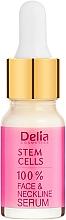 Düfte, Parfümerie und Kosmetik Intensiv verjüngendes Anti-Falten Gesichts- und Halsserum mit Stammzellen - Delia Face Care Stem Sells Face Neckline Intensive Serum