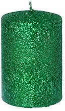 Düfte, Parfümerie und Kosmetik Dekorative Kerze grün 7x10 cm - Artman Glamour