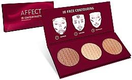 Düfte, Parfümerie und Kosmetik Konturierpalette für Gesicht - Affect Cosmetics Contour Palette