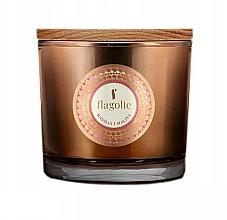 Düfte, Parfümerie und Kosmetik Duftkerze im Glas Vanille und Himbeere - Flagolie Fragranced Candle Vanilla And Raspberry