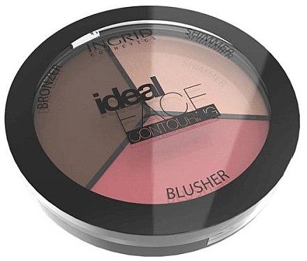 Gesichtskontur-Palette - Ingrid Cosmetics Ideal Face Foundation