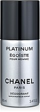 Düfte, Parfümerie und Kosmetik Chanel Egoiste Platinum - Parfümiertes Deospray