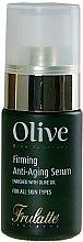 Düfte, Parfümerie und Kosmetik Straffendes Anti-Aging Gesichtsserum mit Olivenöl - Frulatte Firming Anti-Aging Serum