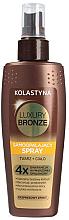 Düfte, Parfümerie und Kosmetik Selbstbräunungsspray für Körper und Gesicht - Kolastyna Luxury Bronze Tanning Spray