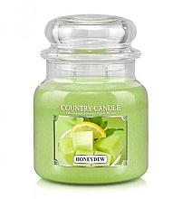 Düfte, Parfümerie und Kosmetik Duftkerze im Glas Honigtau - Country Candle Honeydew
