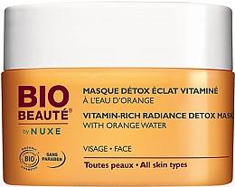 Düfte, Parfümerie und Kosmetik Detox-Gesichtsmaske mit Vitaminen und Orangenwasser - Nuxe Bio Beaute Vitamin Rich Detox Mask