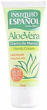 Düfte, Parfümerie und Kosmetik Pflegende Handcreme mit Aloe Vera - Instituto Espanol Aloe Vera Hand Cream