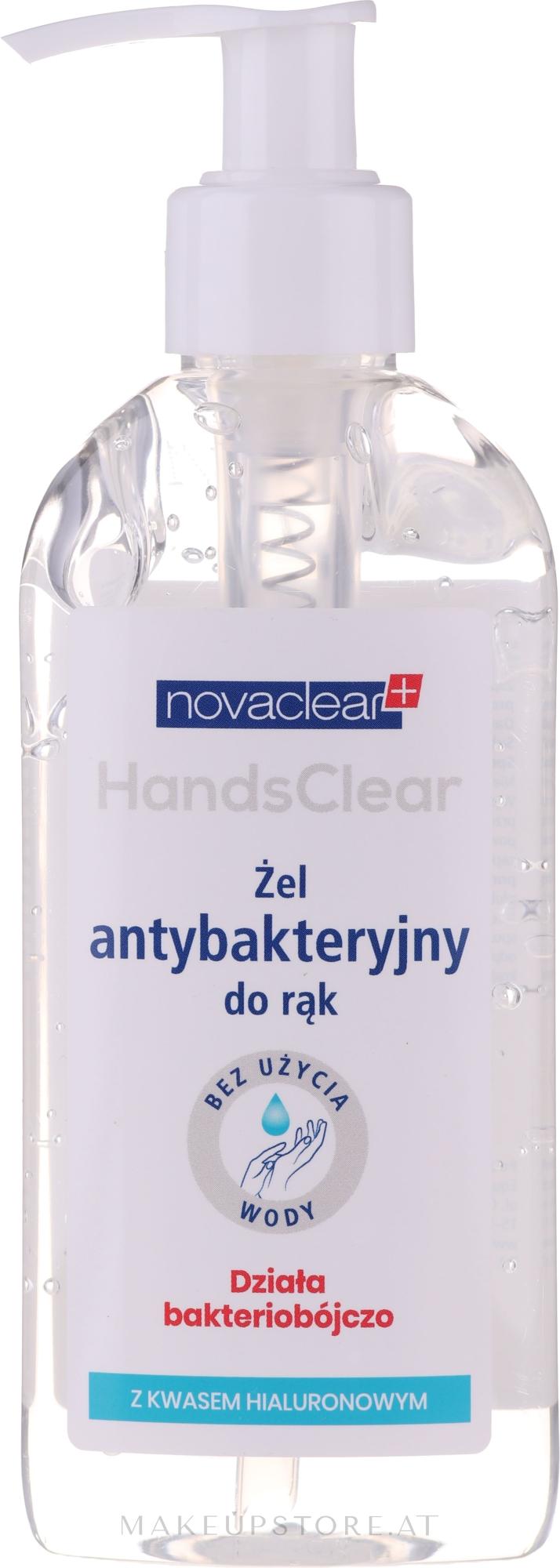 Antibakterielles Handreinigungsgel mit Hyaluronsäure - Novaclear Hands Clear — Bild 200 ml