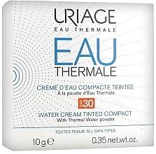 Düfte, Parfümerie und Kosmetik Cremiger Kompaktpuder mit Thermalwasser SPF 30 - Uriage Eau Thermale Water Tinted Cream Compact SPF30