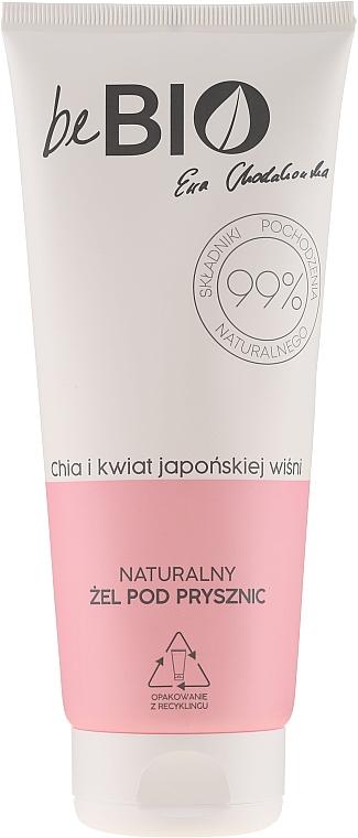 Natürliches Duschgel mit Chia und japanischer Kirschblüte - BeBio Natural Shower Gel