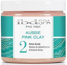 Düfte, Parfümerie und Kosmetik Detox-Fußpeeling mit rosa Tonerde - IBD Aussie Pink Clay Detox Scrub