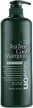 Düfte, Parfümerie und Kosmetik Seboregulierendes balancierendes feuchtigkeitsspendendes und kühlendes Shampoo mit Teebaumöl - Daeng Gi Meo Ri Naturalon Tea Tree Cool Shampoo